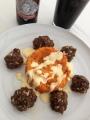 Haggis Meatballs with SweetPotato